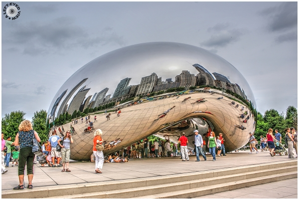 """A Left-Eyed View"", Sabourin, Cloud Gate"