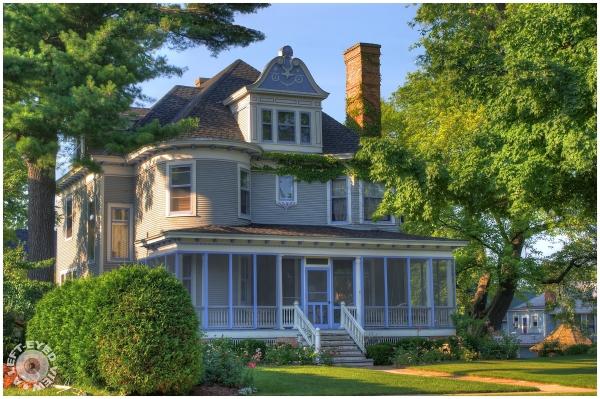 Charles Whitney Residence, Waukegan, Sabourin