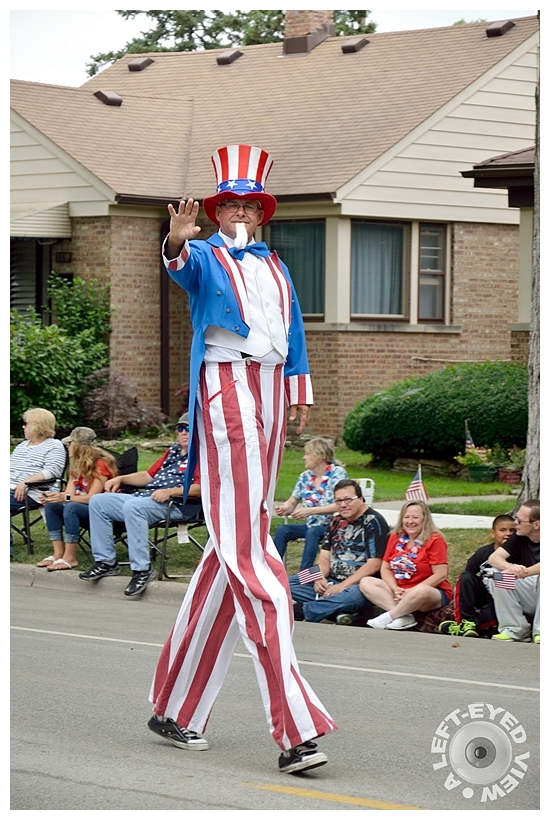 """Uncle Sam, Sabourin, """"A Left-Eyed View"""""""