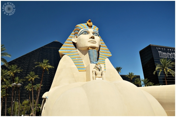 """Sphinx, Las Vegas, Sabourin, """"A Left-Eyed View"""""""