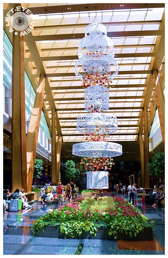 Aria Resort & Casino Lobby - Las Vegas