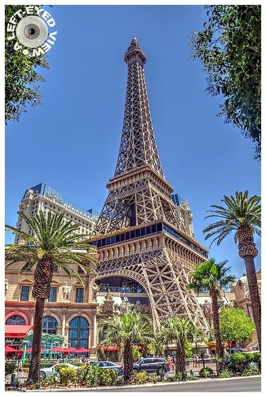 Eiffel Tower, Sabourin, A Left-Eyed View
