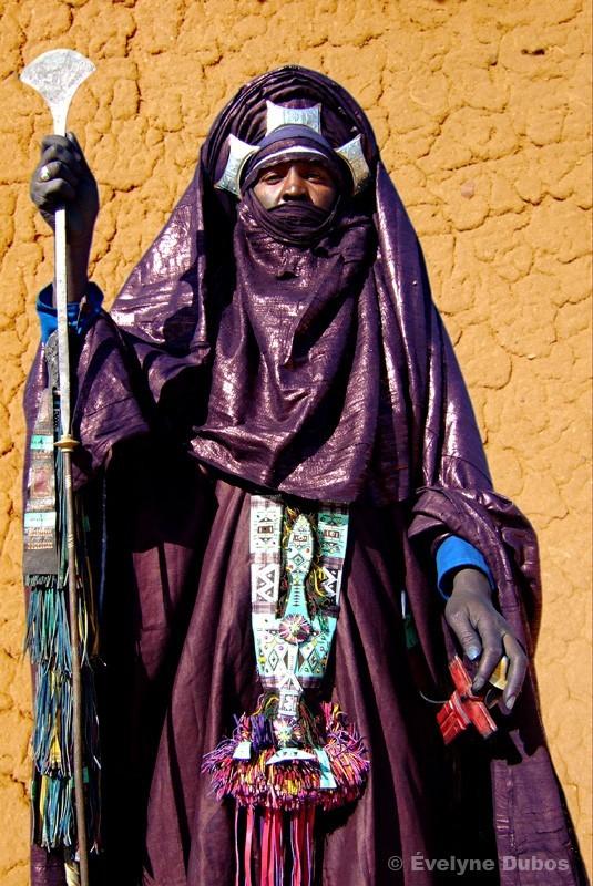 Bado concours de costume Touareg Iferouane