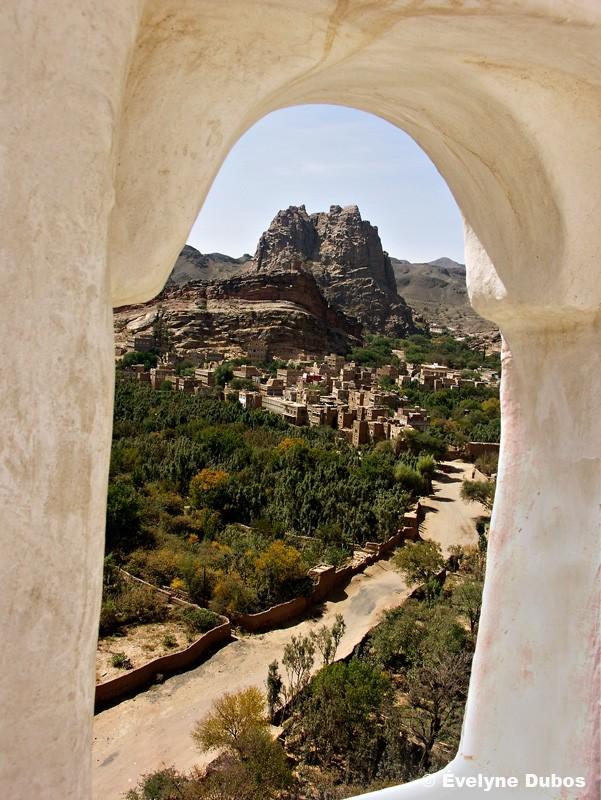 Fenêtre coté jardin (Yémen)
