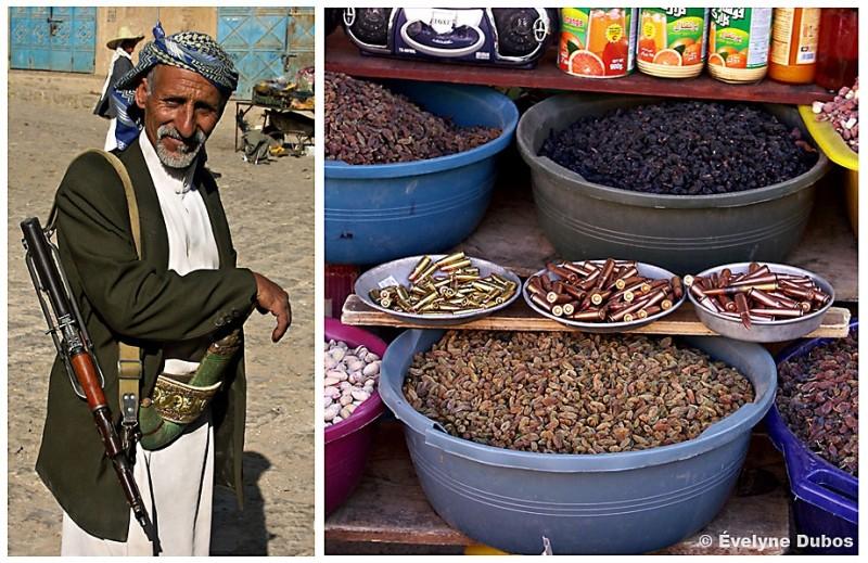 Yasin fait son marché (Yémen)