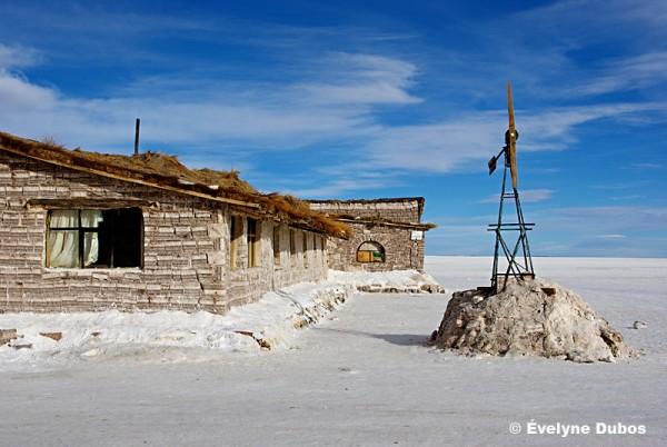 Salt hotel.  -Uyuni salar- (Bolivia)