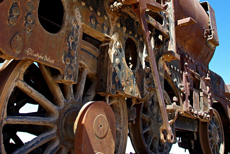 Trains graveyard (2) - Uyuni - Bolivia -
