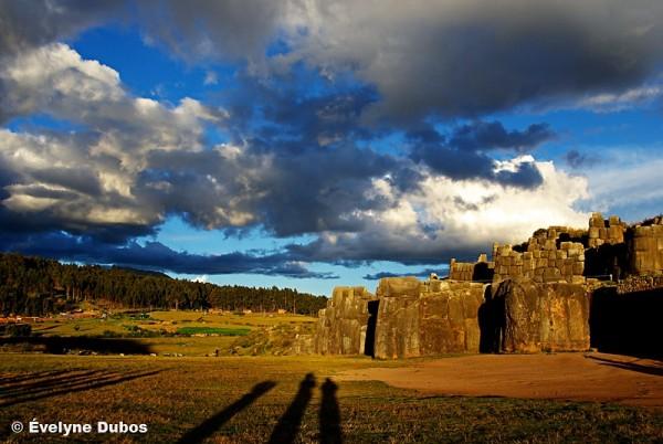 Inca's ruins near Cuzco  (Peru)