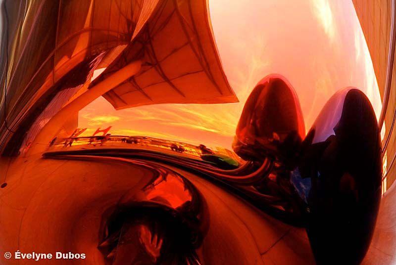 Guggenheim reflexions  (Bilbao - Spain)