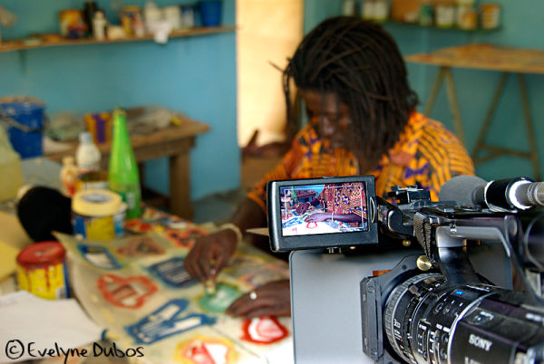 Return from Burkina-Faso... The making-off.