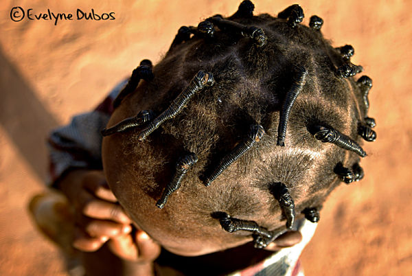 African plaits.  (Burkina Faso)