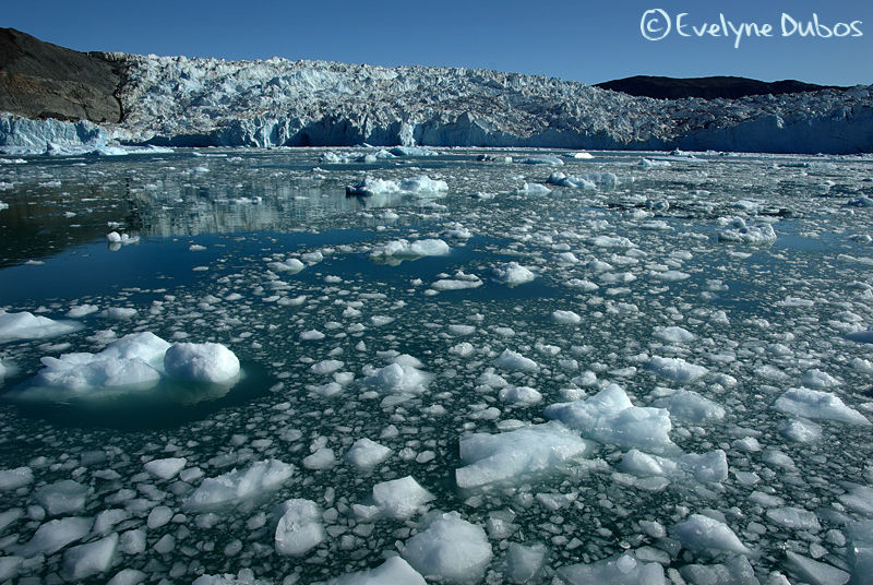 Glacier en vue   - Greenland -