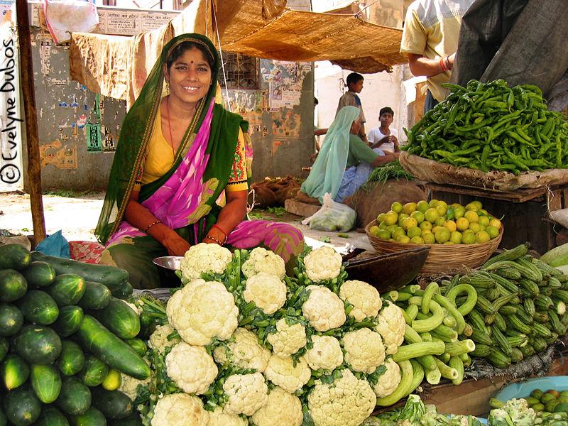 Au marché  (Inde)