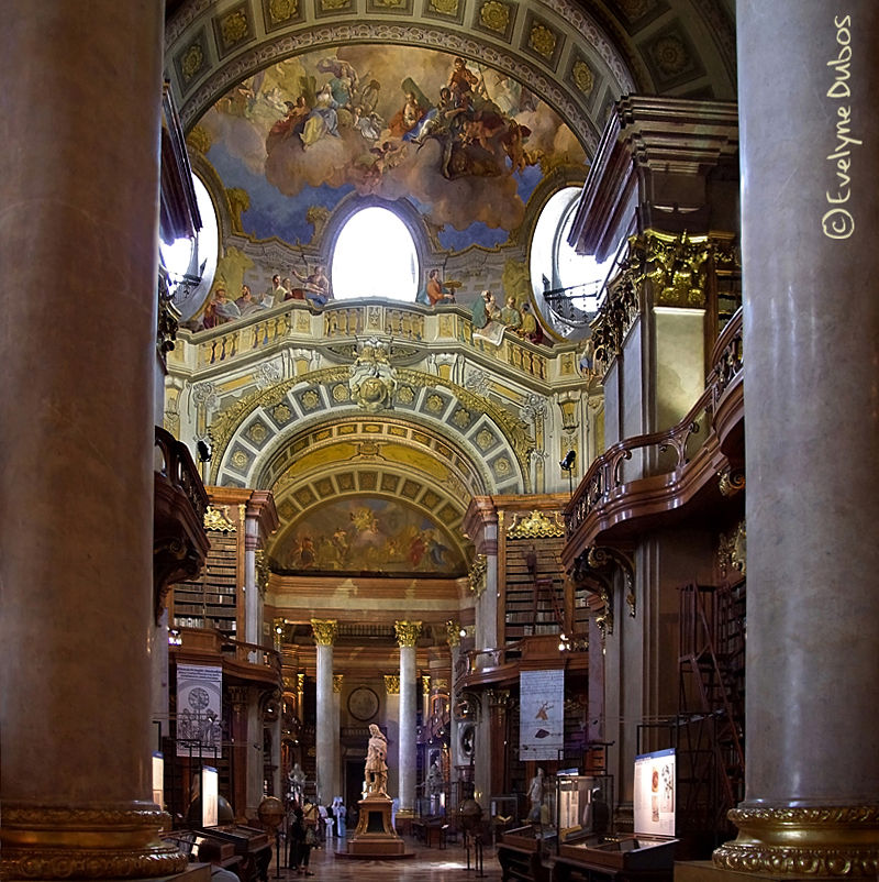 Délires baroques à Vienne.