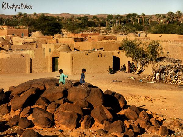 Dans la quiétude d'une fin de journée.  (Niger)