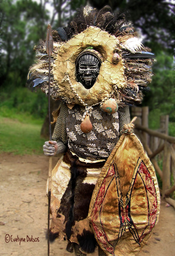 Guerrier Kikuyu  (KENYA)