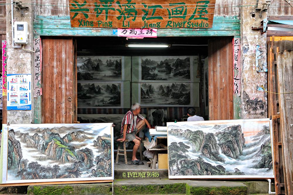 Li Jiang river studio.