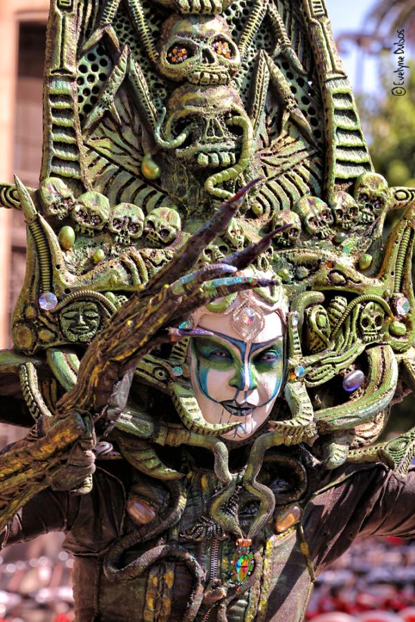 Les statues vivantes de la Rambla (2)