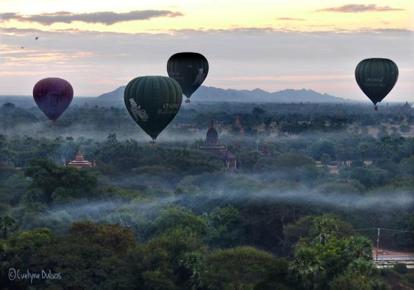 Vol au-dessus de Bagan -1-
