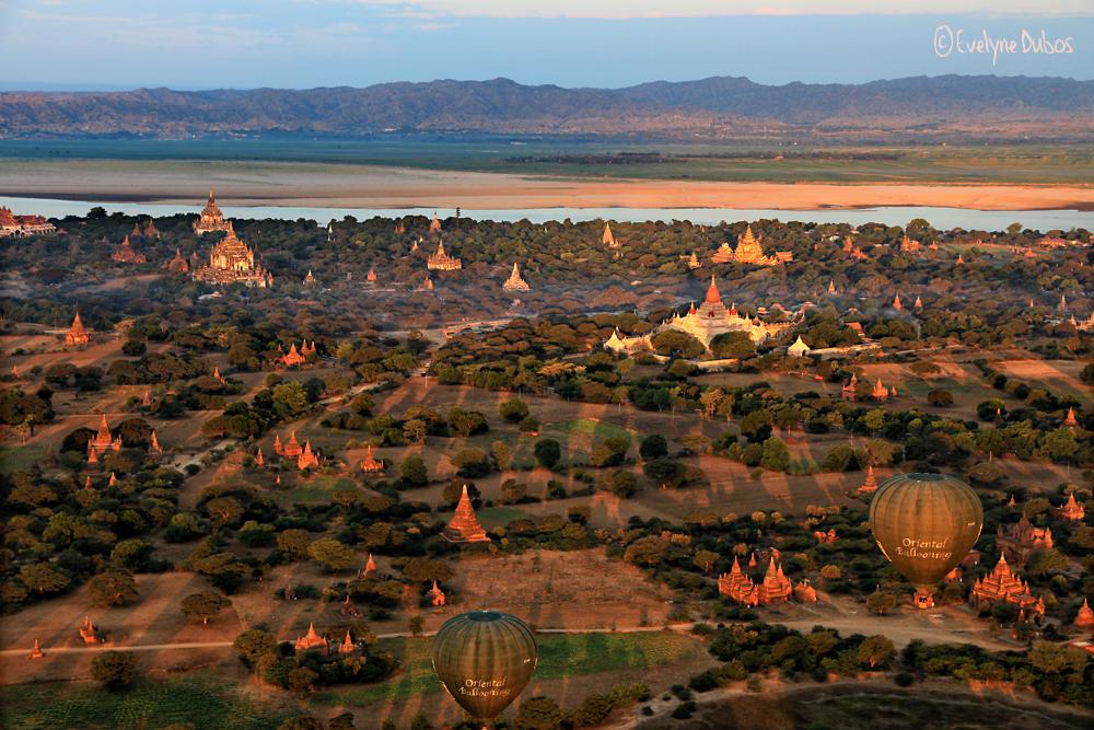 Vol au-dessus de Bagan (3)