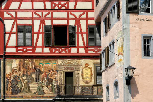 Façades bavaroises (3) : l'histoire.
