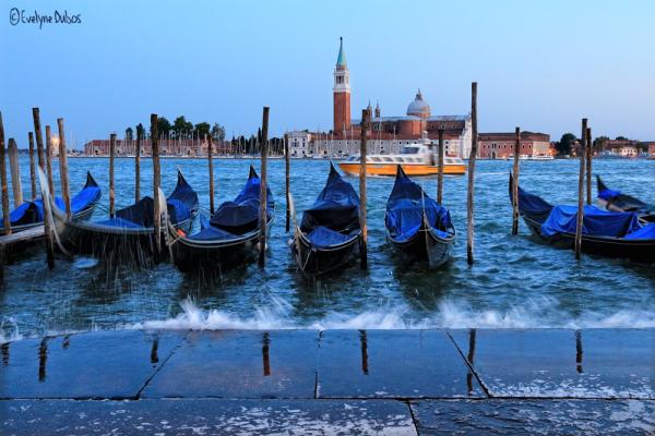 Venise à l'heure bleue.