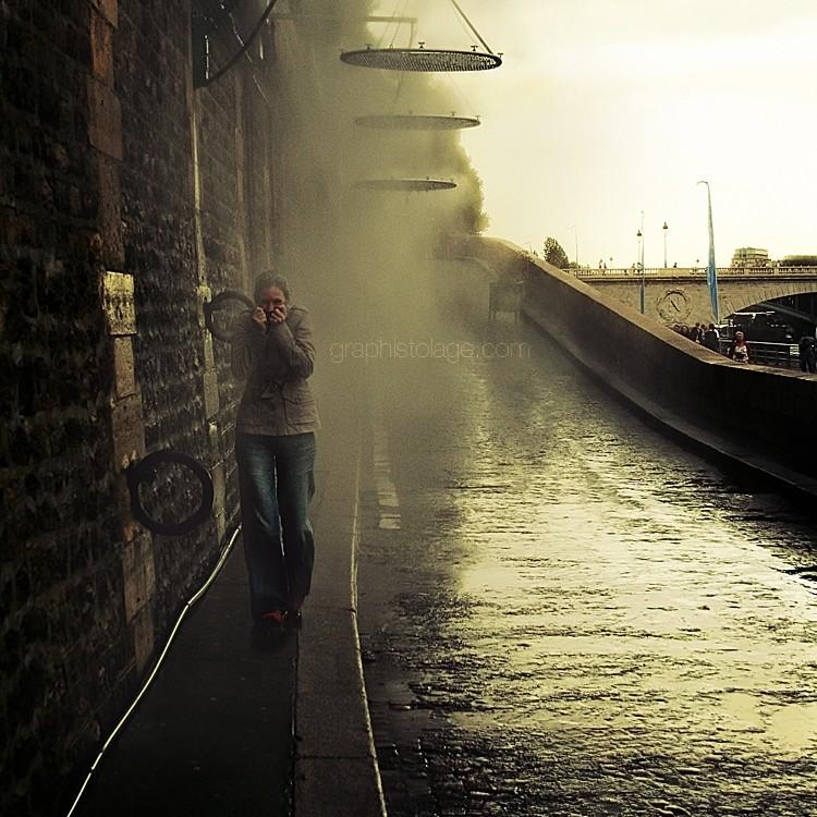 Artificial rain ...