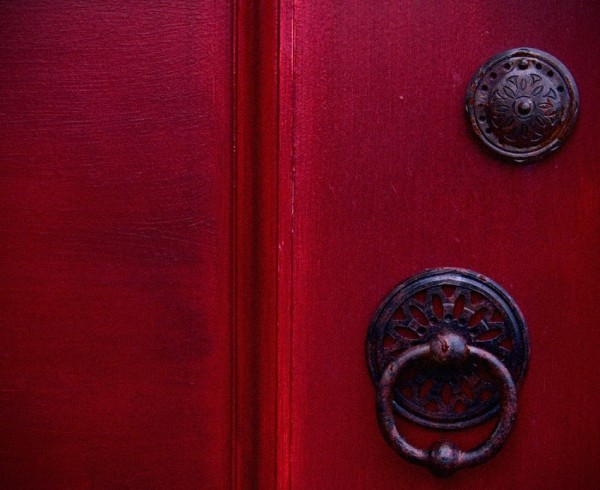 What's behind the red door?