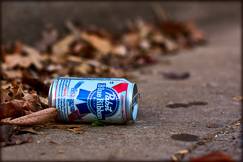Litter on the streets