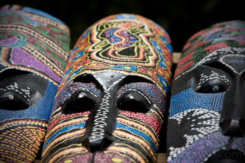 Costa Rican Masks