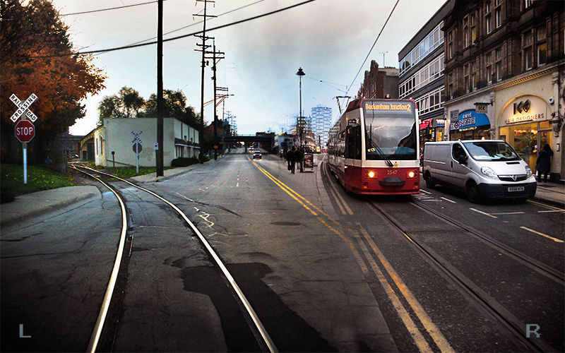 Trams or Trains ?