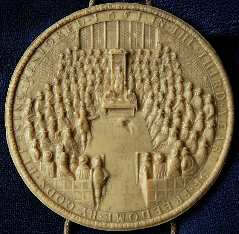Great Seal of England (detail)
