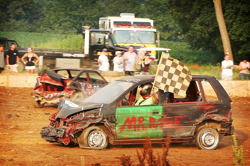 winner of the demolition derby