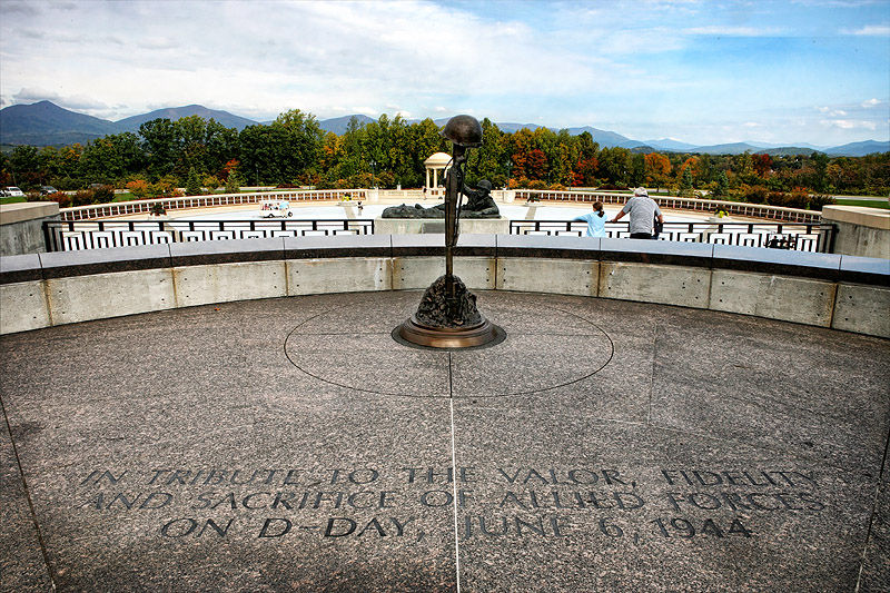 national d-day memorial bedford virgina