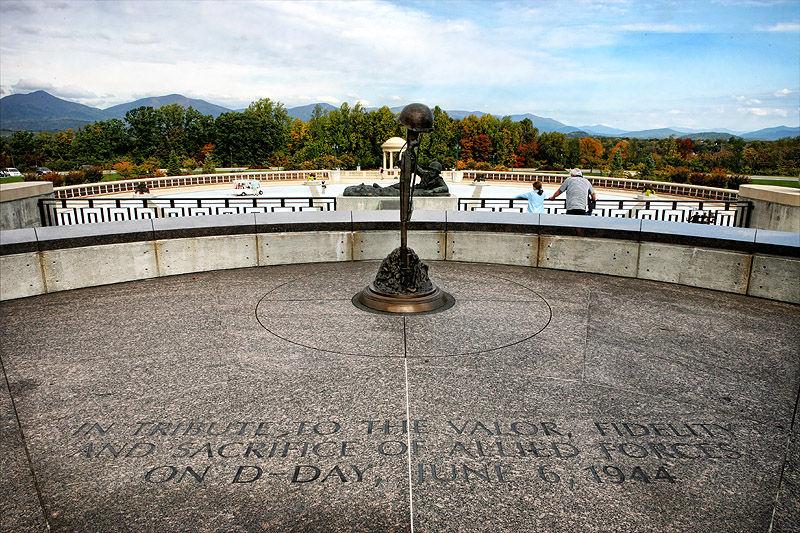national d-day memorial bedford virgina