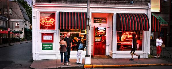 Rosalie's restaurant in Bar Harbor, Maine