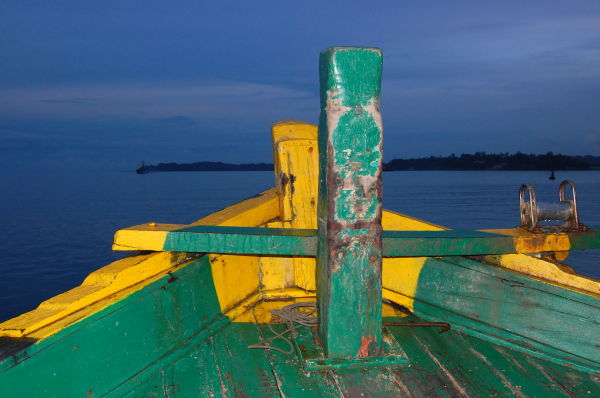 En route to Viper island, Andaman