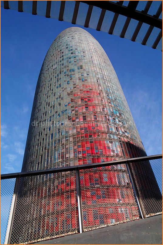 Torre Agbar Barcelona by www.dr-photographer.co.uk