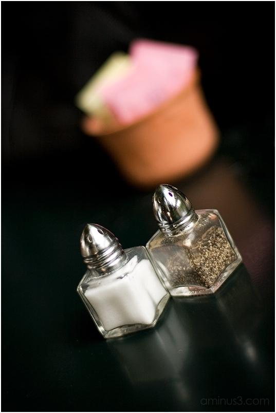 Salt, Pepper, and Artificial Sweetener