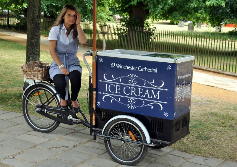 Winchester Cathedral Ice Cream