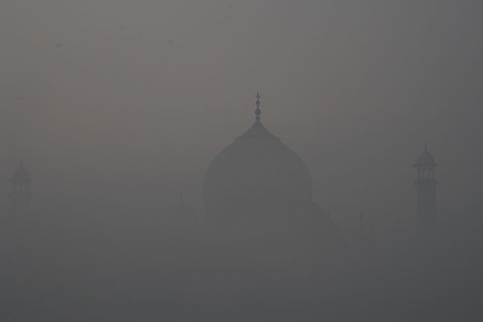 Taj through the fog