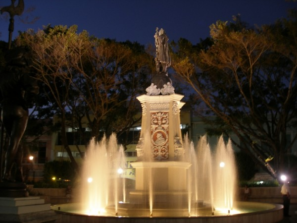 Plaza de Colon, Mayaguez, PR