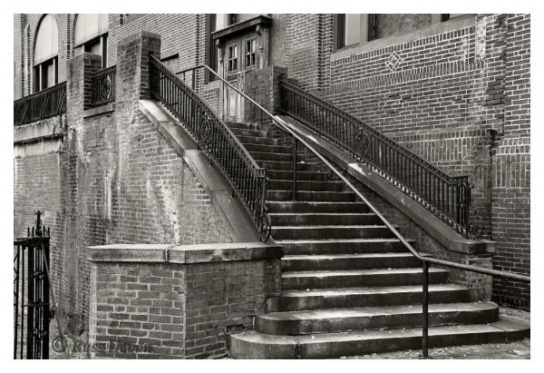 old stairway, marcus hook, pa