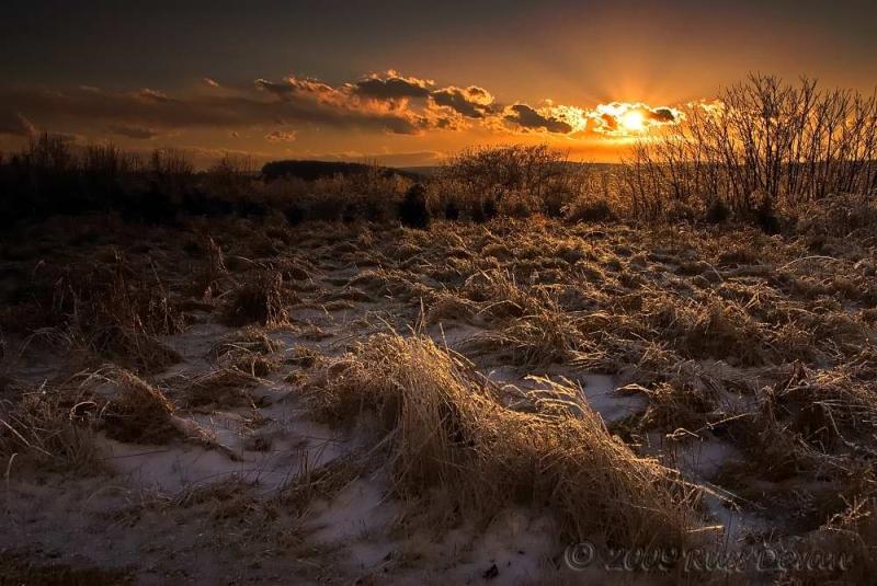 Frozen Sunset II
