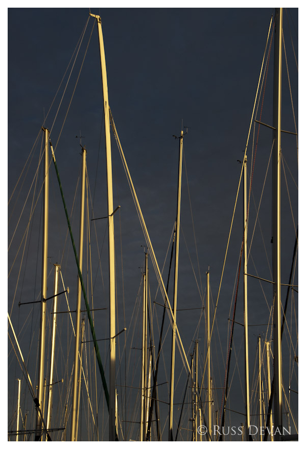 Glowing Masts