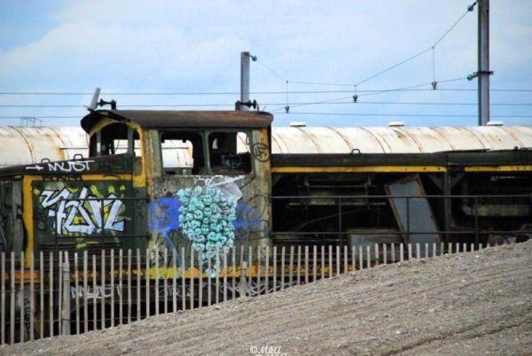 Les trains abandonnés