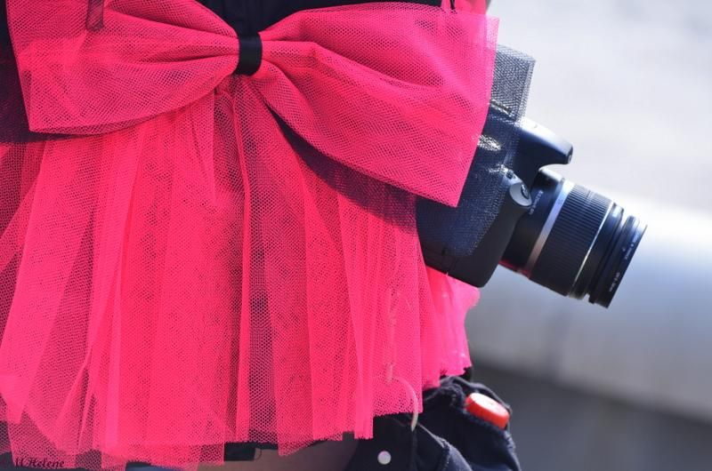 Camouflage clothes for photographer