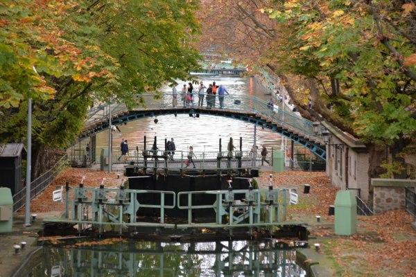 L'automne au bord du canal -2