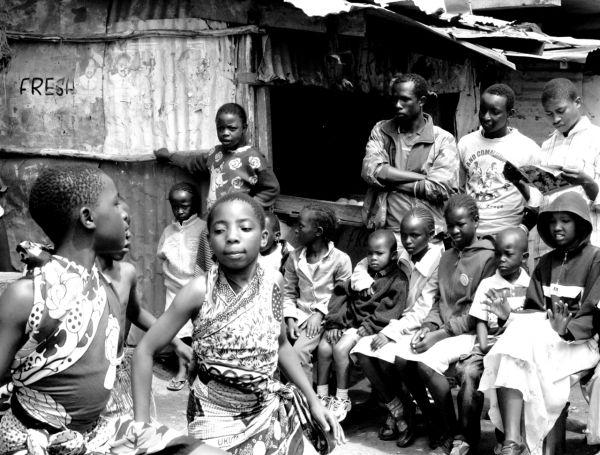 Street performance, Nairobi