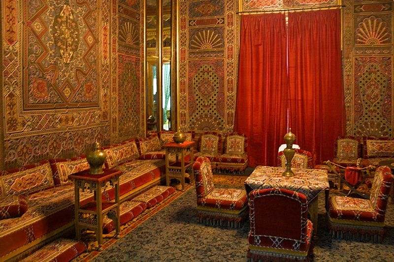 Interior of peles castle romania lifestyle culture for Arabic home decoration